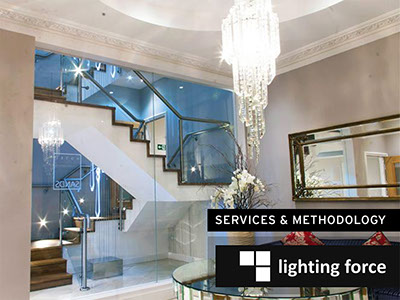 Lighting design for boutique & spa projects - big and small